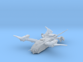 Raven_rebuilt in Smooth Fine Detail Plastic