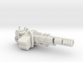 Granade Launcher in White Strong & Flexible: Small