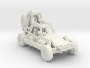 Desert Patrol Vehicle v1 1:220 scale in White Natural Versatile Plastic