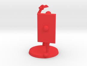 36mm  Viking Zombie Hunter in Red Processed Versatile Plastic