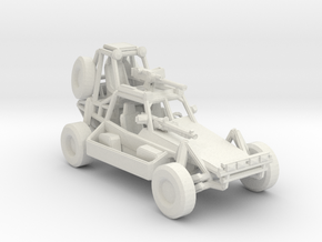Desert Patrol Vehicle v2 1:160 scale in White Natural Versatile Plastic