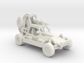 Desert Patrol Vehicle v2 1:220 scale in White Natural Versatile Plastic