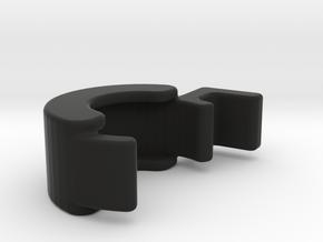 TLF# - LOCKRING - MM510 - Rev. 3 + 4 in Black Natural Versatile Plastic