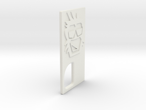 TLF# - Calm Kong - Door in White Natural Versatile Plastic