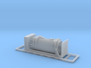 Nuclear Shipping Cask - HO scale in Smooth Fine Detail Plastic