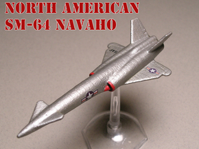 North American SM-64 Navaho 1/285 6mm (Set of two) in White Natural Versatile Plastic