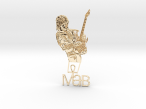 Michael Angelo Batio Pendant #3 in 14K Yellow Gold