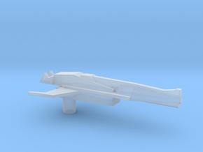 Hot Rod Gun in Smooth Fine Detail Plastic