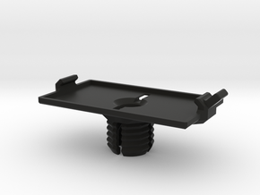 Octamount with Battery Tray combo in Black Natural Versatile Plastic: Small