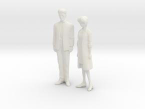 1/43 Ikaris for Car Dioramas in White Natural Versatile Plastic