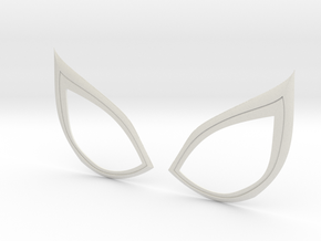 Insomniac Spiderman Lenses (opened) in White Natural Versatile Plastic