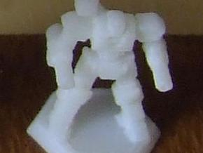 Mecha- Axe (1/937th) in White Acrylic