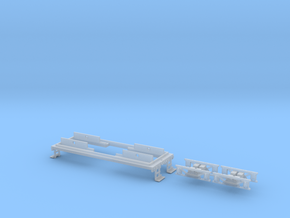N scale CNJ 1000 Frame Upgrade in Smoothest Fine Detail Plastic