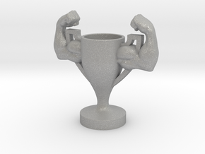 Trophy Arm Strong Muscle in Aluminum