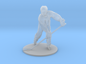 Scanned Hockey Player -13CM High in Smooth Fine Detail Plastic