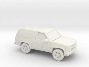 1/87 1992-95  Chevrolet Blazer in White Natural Versatile Plastic