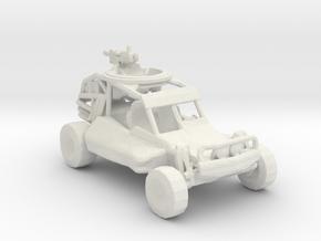 Advance Light Strike Vehicle v1  1:220 scale in White Natural Versatile Plastic