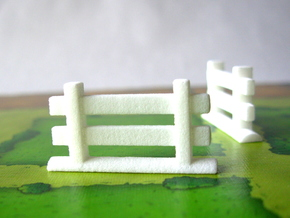 Agricola Fences, set of 77 in White Strong & Flexible