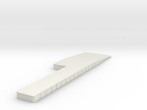 Connell Loading Platform in White Natural Versatile Plastic
