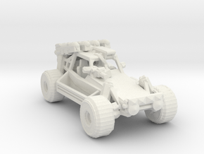 Advance Light Strike Vehicle v3 1:220 scale in White Natural Versatile Plastic