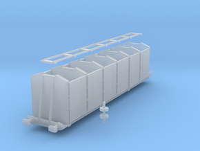 Irish Railways Fertilizer Wagon - N Scale in Smooth Fine Detail Plastic