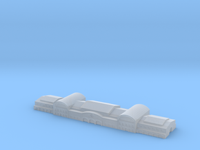 Harbour Terminal shed 3 1/1250 in Smooth Fine Detail Plastic