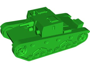 AT-1 [76.2mm] Tank Destroyer in White Natural Versatile Plastic: Small