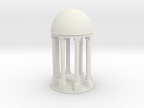 Tempel V1 (71mm) - 1:120 in White Natural Versatile Plastic