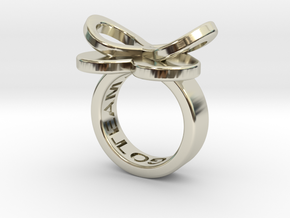 AMOUR petite in 14k white gold in 14k White Gold: 3 / 44