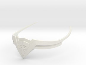 Wonder Woman Tiara High Quality in White Natural Versatile Plastic
