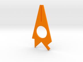 Turf Tool - Multi Tool  in Orange Processed Versatile Plastic