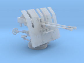 1/45 DKM 3.7cm Flak M42 on LM42U Twin Mount in Smooth Fine Detail Plastic