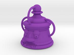 Onigawara Pawn in Purple Processed Versatile Plastic