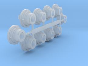 Storzkoppeling 8mm zonder blindflens in Smooth Fine Detail Plastic