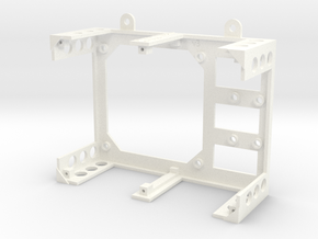 Water Leak Detector chassis in White Strong & Flexible Polished