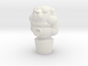 Pupper Stopper VI in White Natural Versatile Plastic