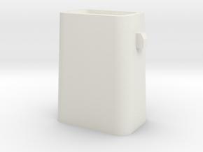 Stahlkokille 2 Zapfen Längs mit Guß 1:120 in White Strong & Flexible