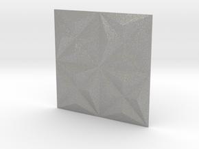 3d Tile_1_metal in Aluminum