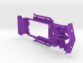 Chassis for Scalextric Corvette L88 in Purple Processed Versatile Plastic