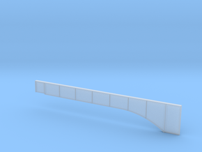 Left Bridge Girder Master for Rt 15 Bridge Wethers in Smoothest Fine Detail Plastic