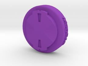Wahoo Elemnt To Garmin Edge Adaptor Mount in Purple Strong & Flexible Polished