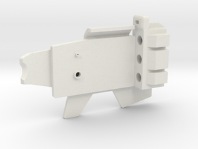 ESB FT Back Plate Assembly in White Natural Versatile Plastic