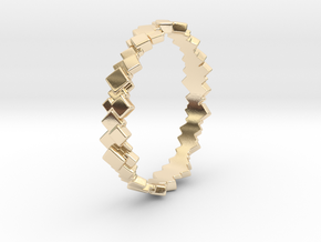 Ring 202 - Eisberg in 14k Gold Plated Brass