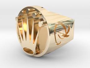 Royal ring  in 14K Gold