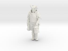 Printle C Femme 594 - 1/32 - wob in White Natural Versatile Plastic
