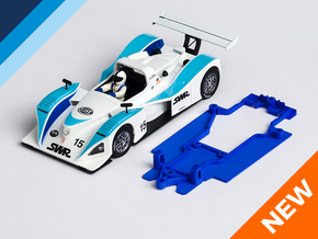 1/32 Spirit Lola B2K/10 Chassis for Slot.it pod in Blue Strong & Flexible Polished