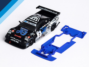 1/32 Fly Lister Storm Chassis for Slot.it AW pod in Blue Strong & Flexible Polished