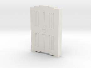 Triple Underpass Walkway Keystone in White Natural Versatile Plastic
