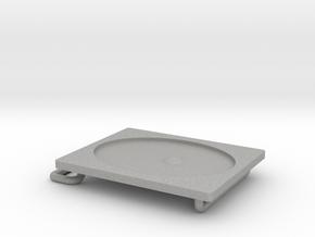 Belt Buckle Metal in Aluminum