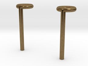Rivet studs in Natural Bronze